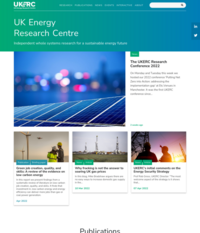 UK Energy Research Centre, UKERC